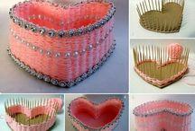 Idei scrap / Idei folositoare pentru ornamente handmade dragute si interesante :)