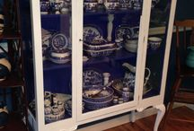 Painting my china cabinet.... What color? / by Susan Wimmer Jessee