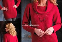 свитера и узоры плотные