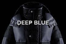Deep Blue / The enticing nature of blue cannot be defined or limited: this colour has a never-ending palette of tones and shades, always surprising and new. Like the fullest life you can dream of! / by Moncler