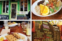 Awesome Vegan Friendly Cafe's / Cafes / Restaurants with a good range of vegan and living food dishes on the menu. These are places I've found on my travels so they are dotted all over the place.