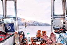 Handknits: Made for Advenures / Beautiful hand-knitted garments and accessories are not luxuries to leave in a drawer . . . they are adventure equipment!