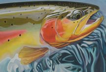 Cutthroat Trout Art