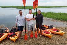 kayaking at Herring cove