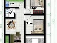 Denah dan desain rumah