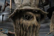 Masks - Burlap & Scarecrow
