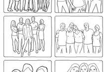 Posing Groups