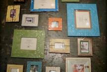 Picture Frame Ideas / by Meagan Statzer