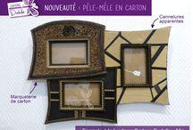 EN VENTE A LA BOUTIQUE CARTONS DUDULLE (Albi 81000) / Objets de décoration en carton en vente à Albi, au magasin Cartons Dudulle : 39 rue Séré de Rivières 81000 ALBI.