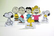Decoração Snoopy / eças 3D para decoração de mesa,. tema Snoopy e sua turma
