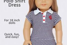 American Girl Projects (furniture and clothes) / by Paige Swain