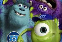 Monster Inc (University) Party Ideas