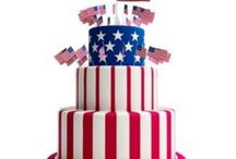 July 4 cakes