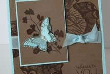 Butterfly cards and live inspiration / by Jeanyne Bartley