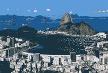Cartão Postal RJ / http://cargocollective.com/jddesign