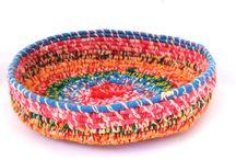 Aboriginal Art - Baskets and Sculptures / Handmade baskets and sculptures