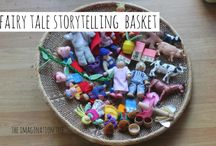 Creative play, imagination and stories