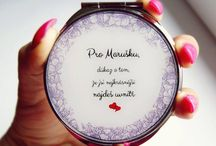 Wedding pocket mirrors / Wedding pocket mirror can be nice gift for moms, brides, bridesmaids, witness or just for the best friend!