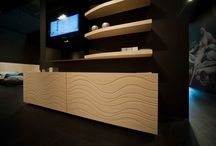 Sideboards  and tables / le madie e i tavoli  / living area. complementi per l'area living