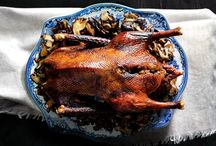 Goose Beast #MemorableMeals / Cantonese roasted goose with spicy sticky rice sausage stuffing.