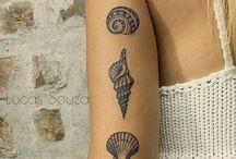 Ocean tattoo