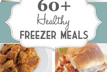 Freezer Meals / by Kathleen Stanko