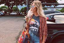 Summer fashion / boho