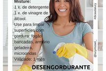 Limpieza de ropa y cocina