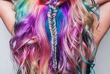 colorfull hair styles