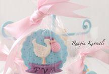 Baby Cookies / Bebek Kurabiyeleri / Babyshower, hastane çıkışı, diş buğdayı, yaş günü, özel gün kurabiyeleri.