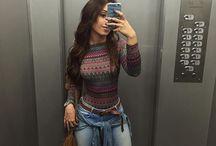 looks calça jeans