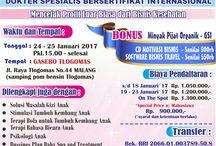 JADWAL PELATIHAN BABY SPA 2017 / PELATIHAN BABY SPA AND TREATMENT 2017 GRIYA SEHAT INDONESIA