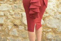 Faldas de fiesta Mariquita Trasquilá / La decisión de una falda de vestir será facil siguiendo este tablero.