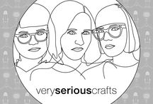 The Very Serious Crafts Podcast / New episodes, news, and show notes for the Very Serious Crafts Podcast!