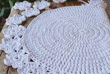 Modele tricot covoare