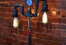 Industrial DIY Lamp