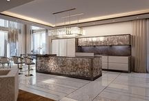 "Kitchen ""Symphony - Infinity"" collection / Kitchen by Bizzotto"