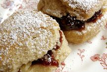 Teatime Treats / Recipes for scones, cookies, muffins, tea sandwiches, and beverages.
