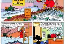 Cartoon / Barks, Gaiman, Moore, Willy Wandersteen
