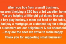Small Business Success / Celebrating small business owners
