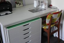 sewing cabinet ideas / by Debbie Toscano Giannone