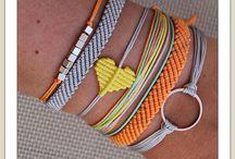 mix 'n' match bracelets