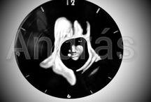 vinyl record clock / recycle