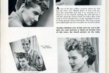 1940's hairstyle / Historical hairstyle of 1940's period with pics and tutorials