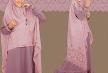 hijab tangan bolong