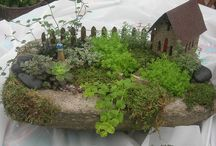fairy gardens / by Mary Ayinde