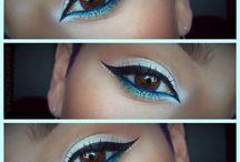 eyes make-up / #inspiration #eye #make-up inspirations of make-up of eyes.