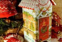 CĂSUȚE  CHRISTMAS