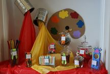 art themed ideas / by Clutter-Free Classroom