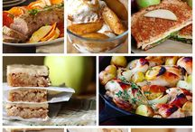 Recipes - Apples and Rhubarb